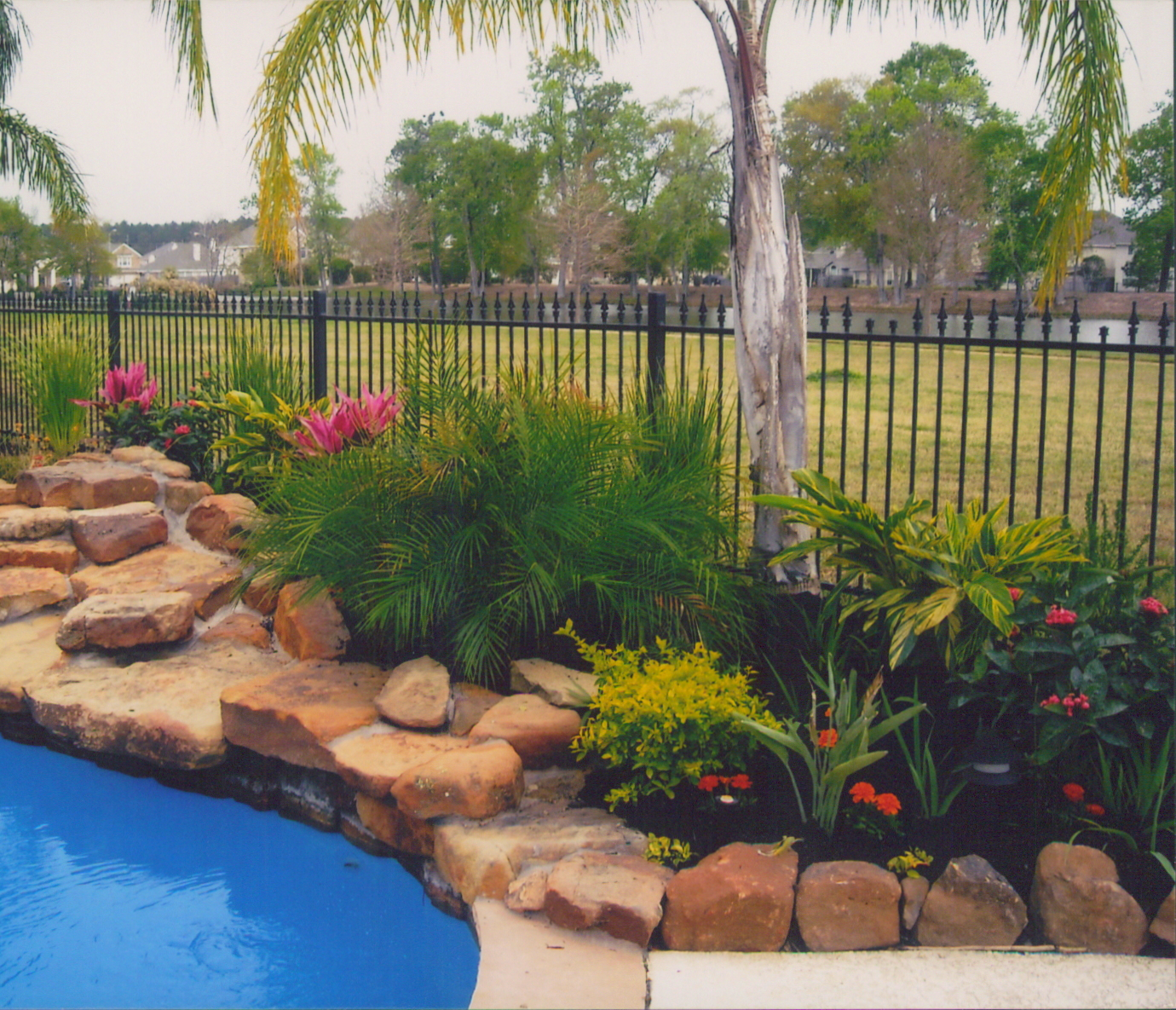 Texas Green Gardens Co. – Landscape Design – Spring, TX – Creating on texas rock home designs, texas landscape pool design ideas, texas rock garden landscape, texas rock patio designs, texas native plant garden designs,
